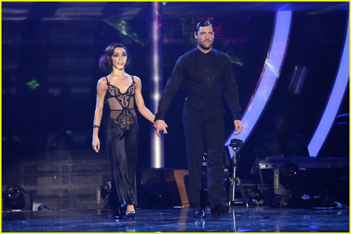 Why Dwts Meryl Davis Maksim Chmerkovskiy Should Be: Meryl Davis & Maksim Chmerkovskiy's Perfect Tango From