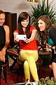 Ash-studio ashley rickards brightens up samsung galaxy variety studio 05