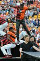 Derulo-soccer jason derulo jumps around at the australian football a league grand final10