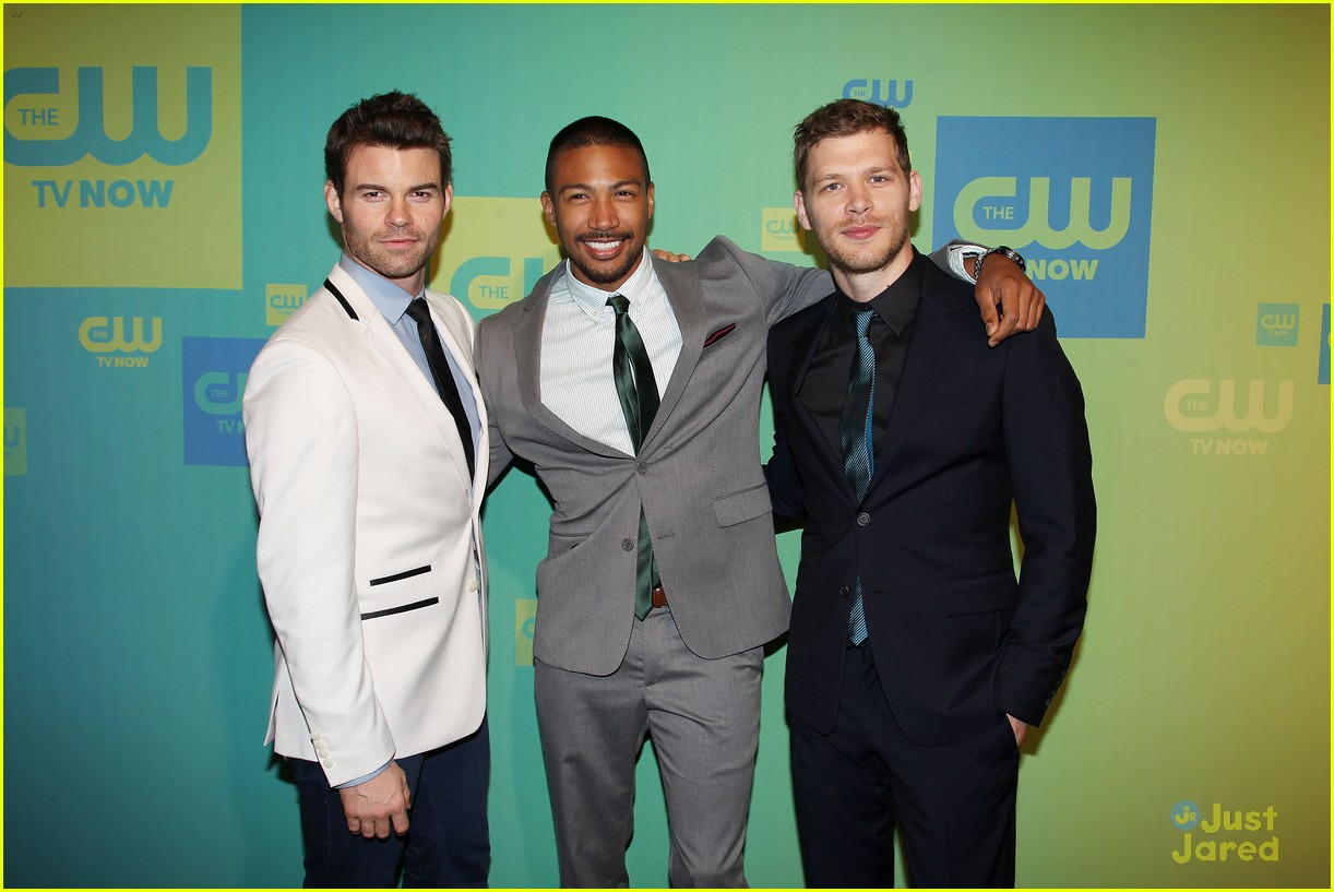 joseph morgan phoebe tonkin the originals cw upfronts 17