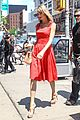 Swift-red taylor swift red dress meredith met gown 05