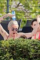 Cyrus-water miley cyrus wears a bikini douses herself with water 11