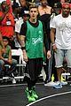 Justin-basket justin bieber chris brown bet celeb basketball game 18