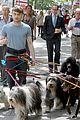 Dan-dog daniel radcliffe dog walker trainwreck nyc set 18