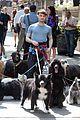 Dan-dog daniel radcliffe dog walker trainwreck nyc set 19