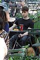 Dan-dog daniel radcliffe dog walker trainwreck nyc set 25