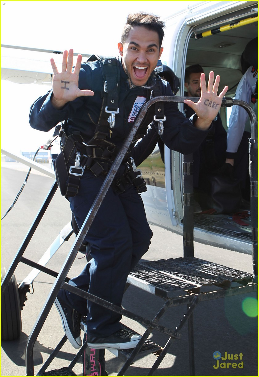 james maslow skydives carlos alexa penavega 19
