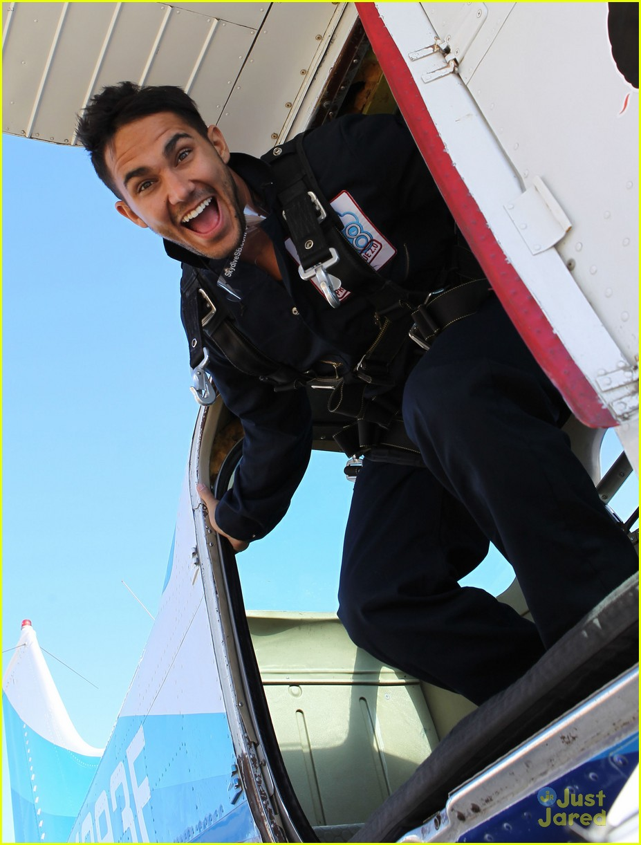 james maslow skydives carlos alexa penavega 20