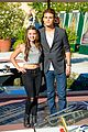 Paul-venice paul wesley fatima ptacek venice kick off party photo call 03