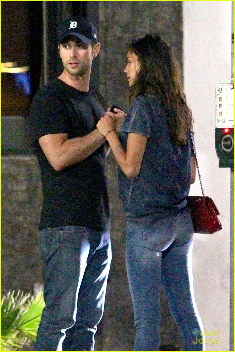 Chace Crawford Holds Hands with a Girl After Night Out ...