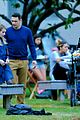 James-kiss james franco emma roberts kiss park michael filming 28
