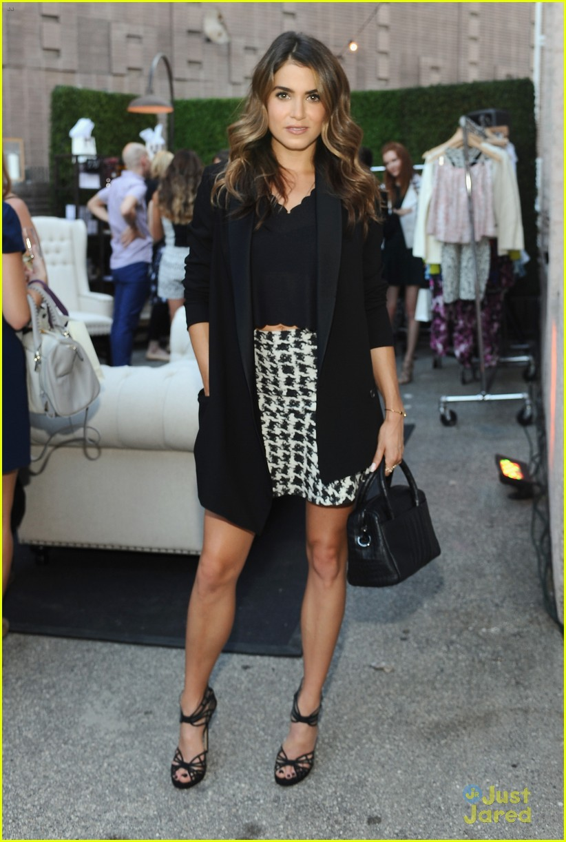 Nikki Reed Attends Two Launch Events In One Day Photo