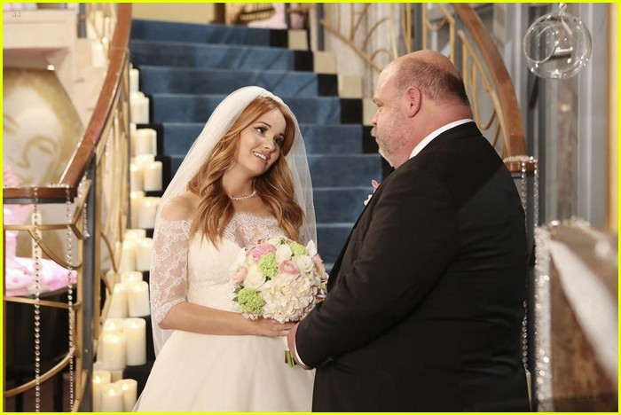 debby ryan kevin chamberlin jessie wedding stills 11