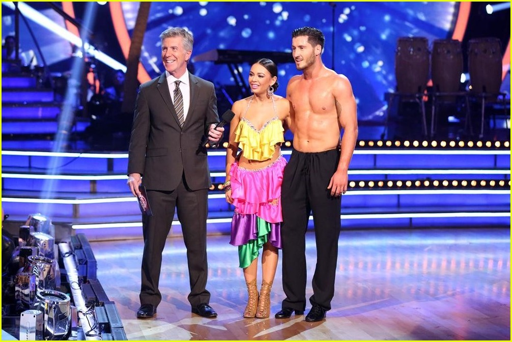 dwts season 19 week 4 val and janel dating