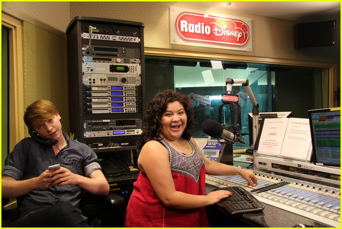 raini rodriguez calum worthy radio disney takeover 01