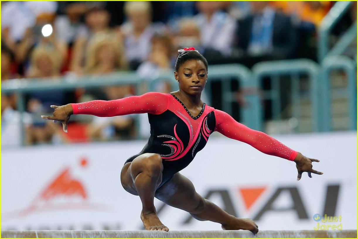 Fierce Five Olympian Kyla Ross & Simone Biles Dominate ...