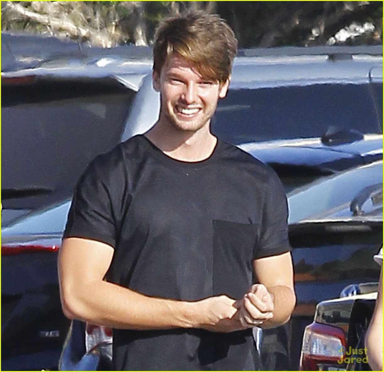 Miley Cyrus & Patrick Schwarzenegger Look Cute Together on ...