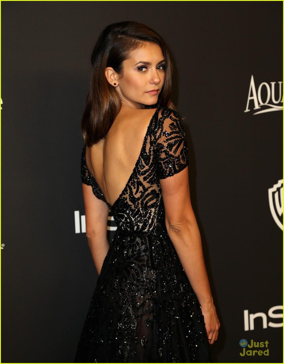 Nina Dobrev Is So Elegant at the InStyle Golden Globes ...