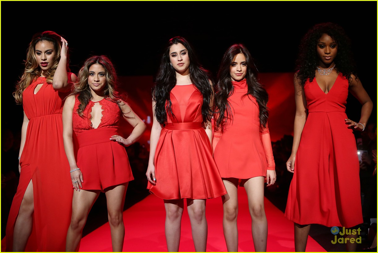 Fifth Harmony Go Red For New York Fashion Week - See Their Runway Pics! | Photo 774827 - Photo ...