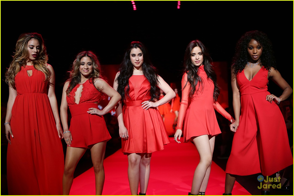 Fifth Harmony Go Red For New York Fashion Week - See Their Runway Pics! | Photo 774832 - Photo ...