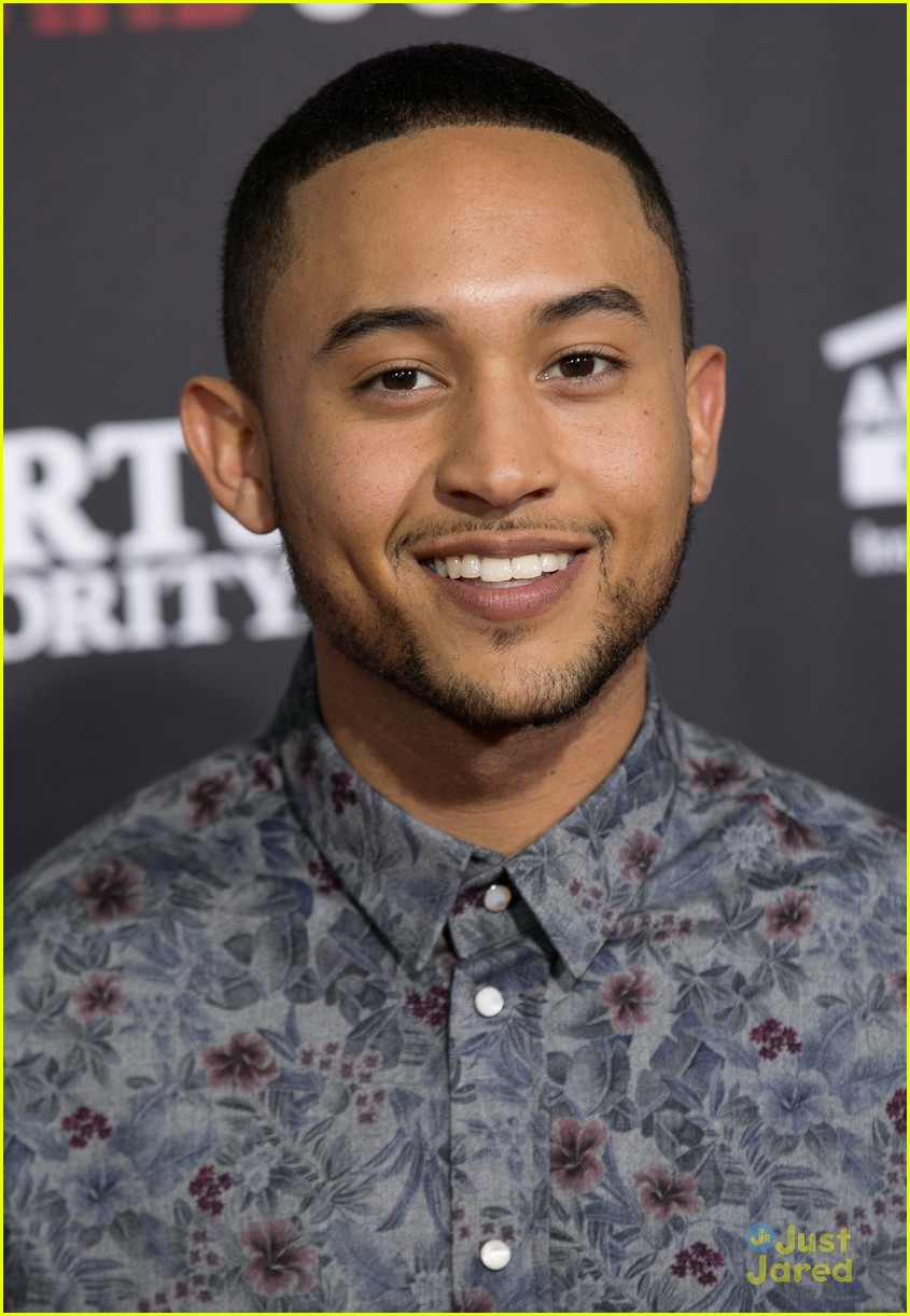 tahj mowry on the real