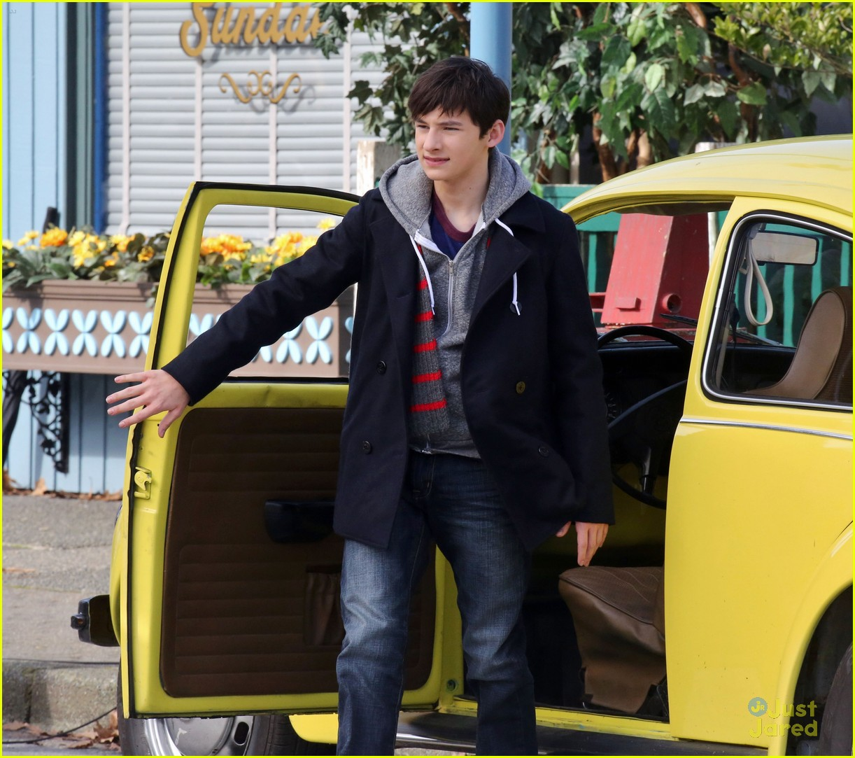 jared gilmore photoshoot