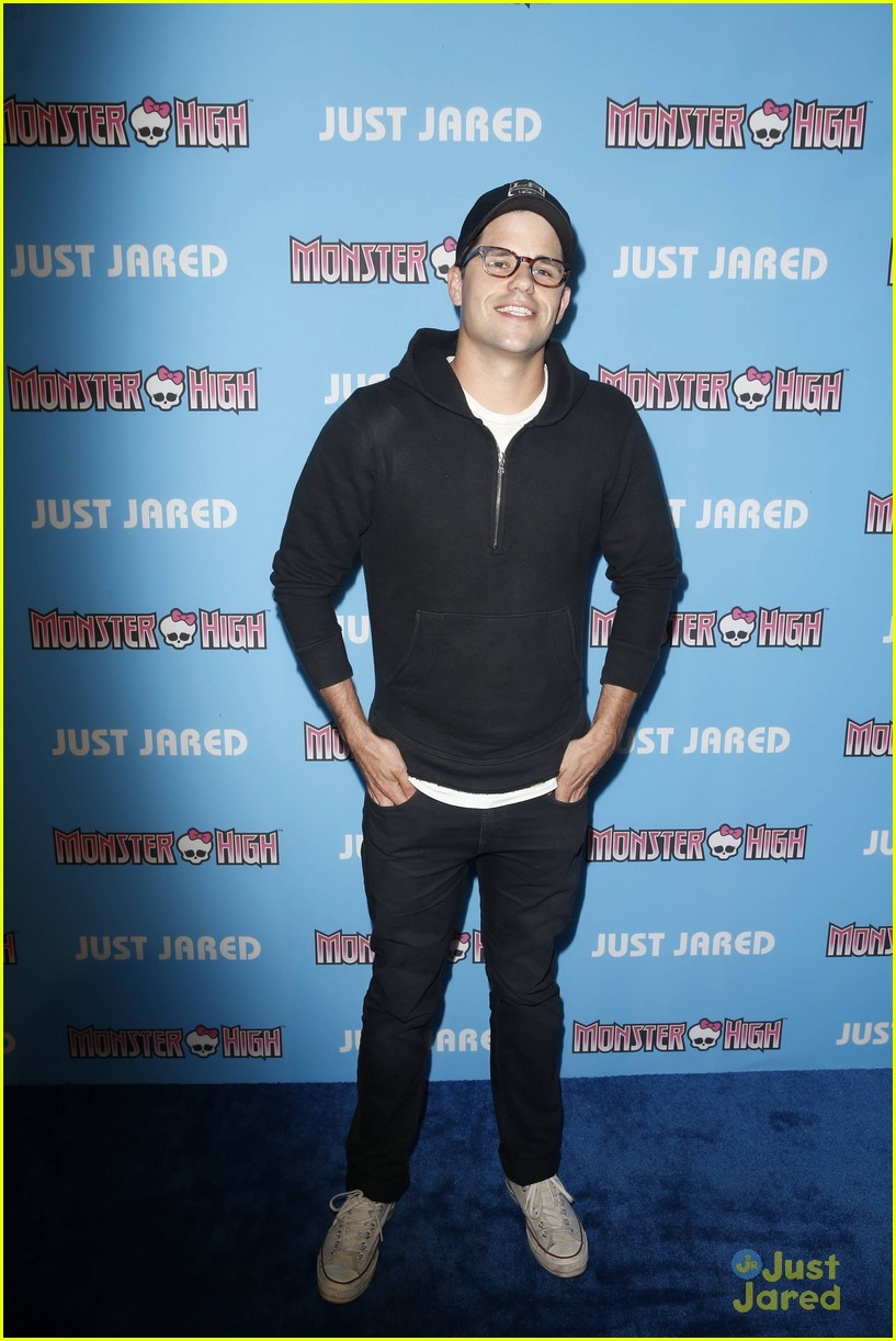 mark salling max adler glee throwback party 02