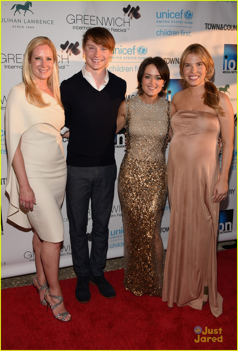 calum worthy karan brar changemakers gala 01