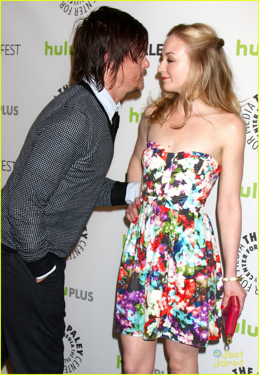 reedus and kinney dating