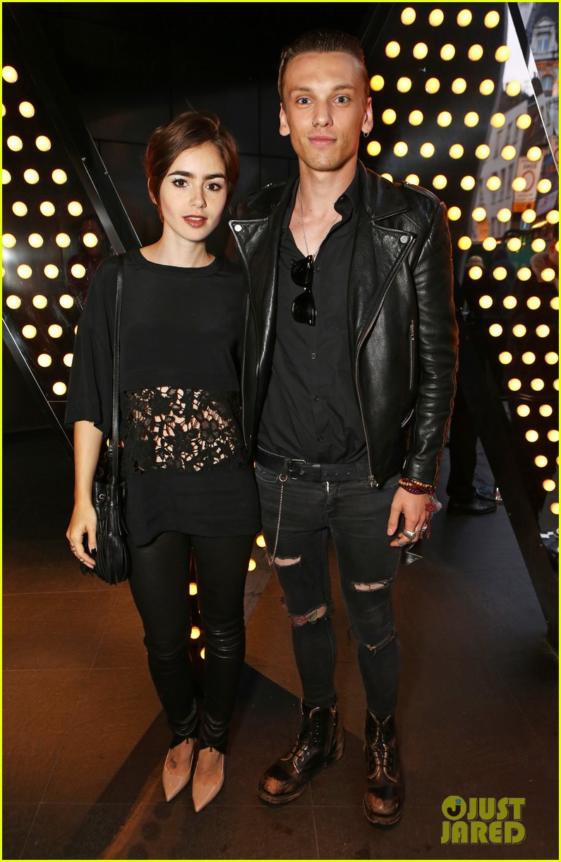 Lily Collins Jamie Campbell Bower Dating Again Kiss in New Photos