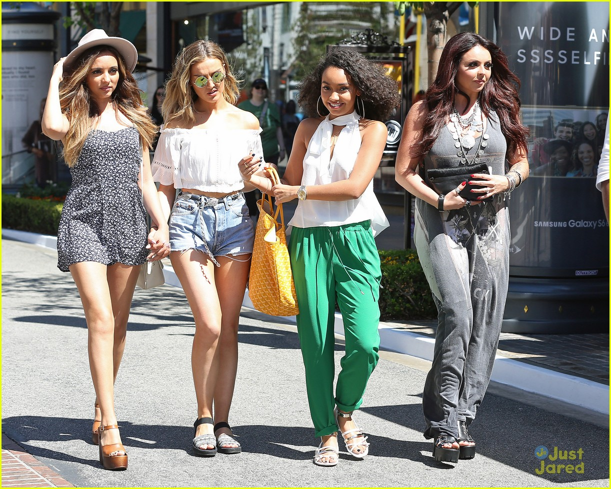 Jade Thirlwall And Perrie Edwards Holding Hands