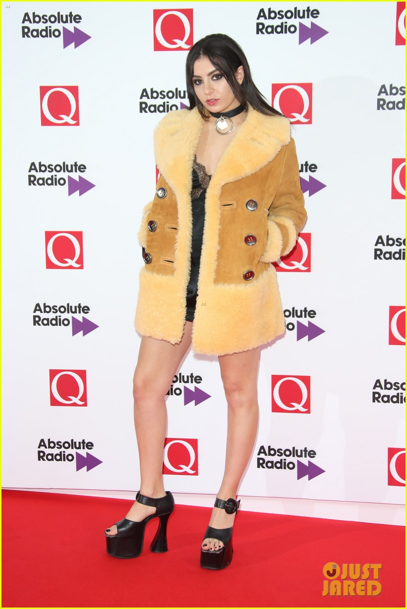 Charli Xcx Miguel More Hit The Red Carpet Q Awards