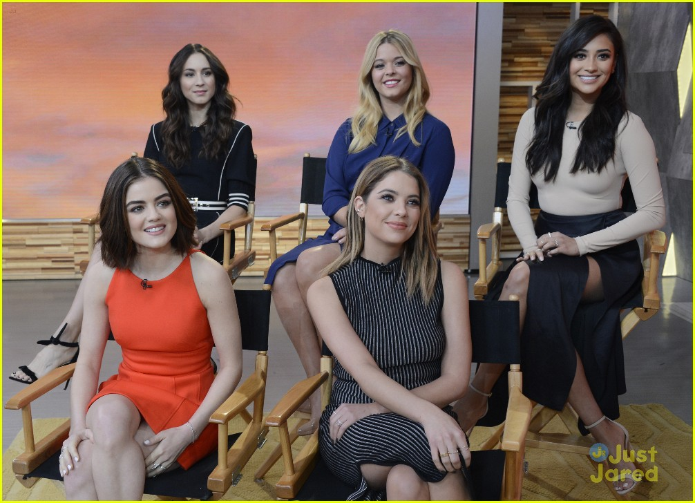pretty little liars cast finish up gma appearance 05