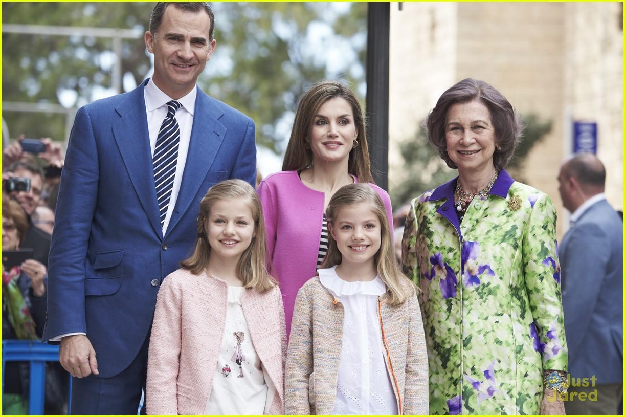 spanish royal family christmas 2018