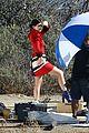 Jenner-visit2 kylie jenner gets a visit on set from caitlyn jenner 16