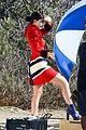 Jenner-visit2 kylie jenner gets a visit on set from caitlyn jenner 17