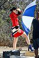 Jenner-visit2 kylie jenner gets a visit on set from caitlyn jenner 22