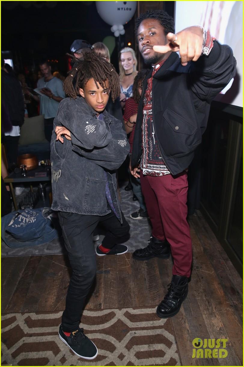 Lucky Blue Smith & Anwar Hadid Hit Nylon's Young Hollywood ... | 812 x 1222 jpeg 233kB