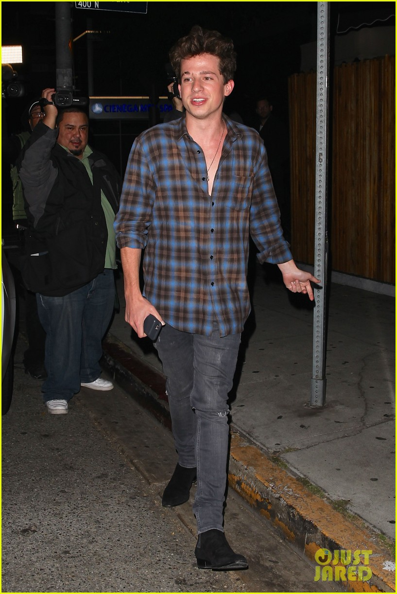 charlie puth heads to the nice guy with female friend 01