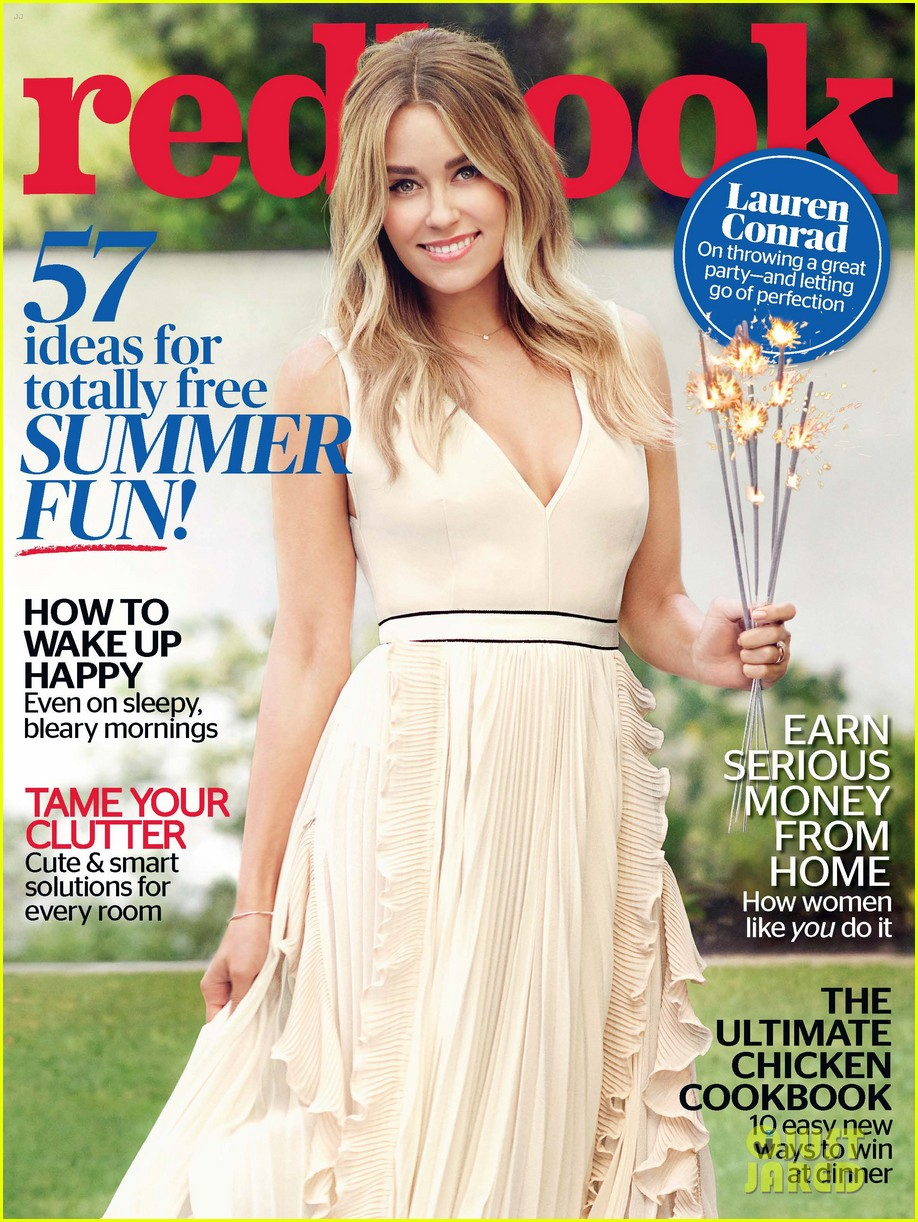 lauren conrad redbook july issue 2016 cover 01