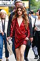 Selena-fountain selena gomez frollicks through fountains with young fans 03