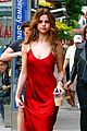 Selena-fountain selena gomez frollicks through fountains with young fans 04