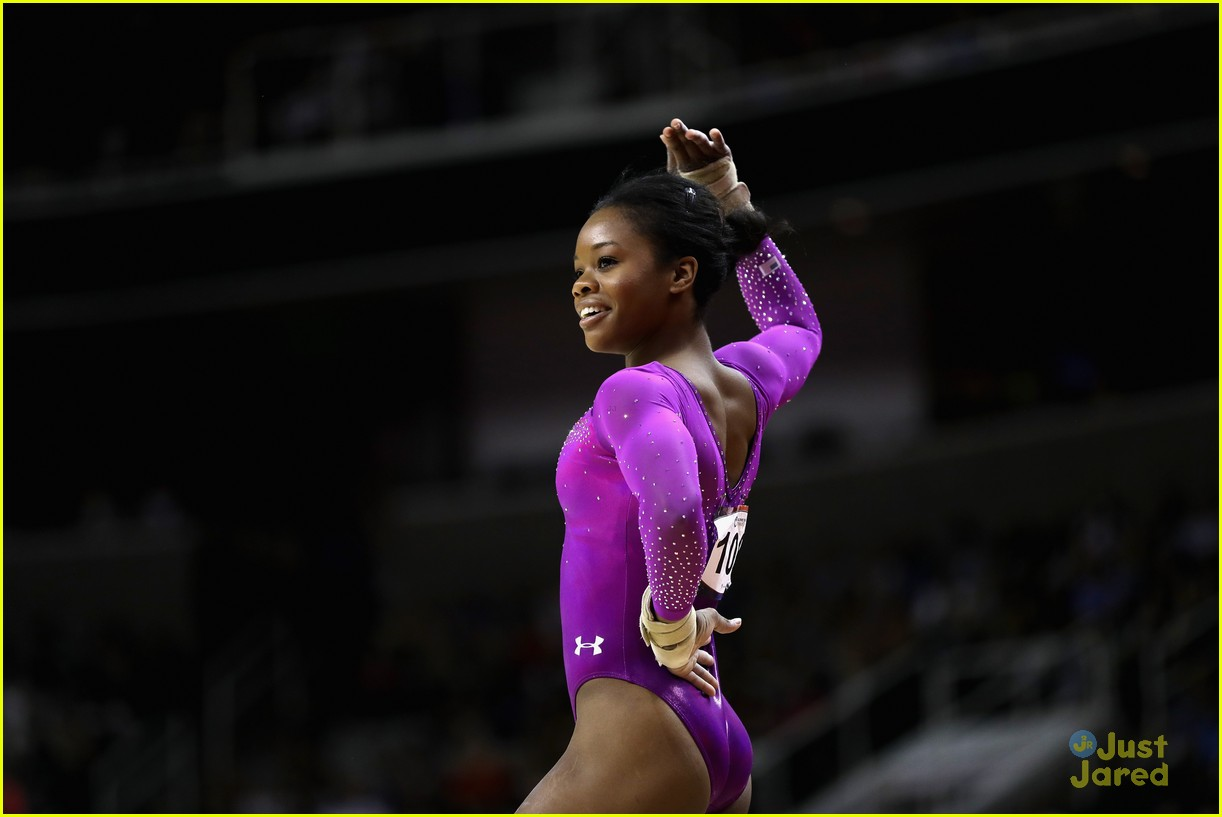 Simone Biles Leads After First Day Of Olympic Trials For