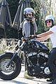 Josh-motorcycle josh hutcherson girlfriend claudia traisac ride around on his motorcycle505mytext