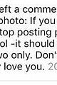 Sel-comments selena gomez comments justin bieber photo sofia richie 04