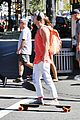 Tom-orange tom felton orange tank workout before flash set 04