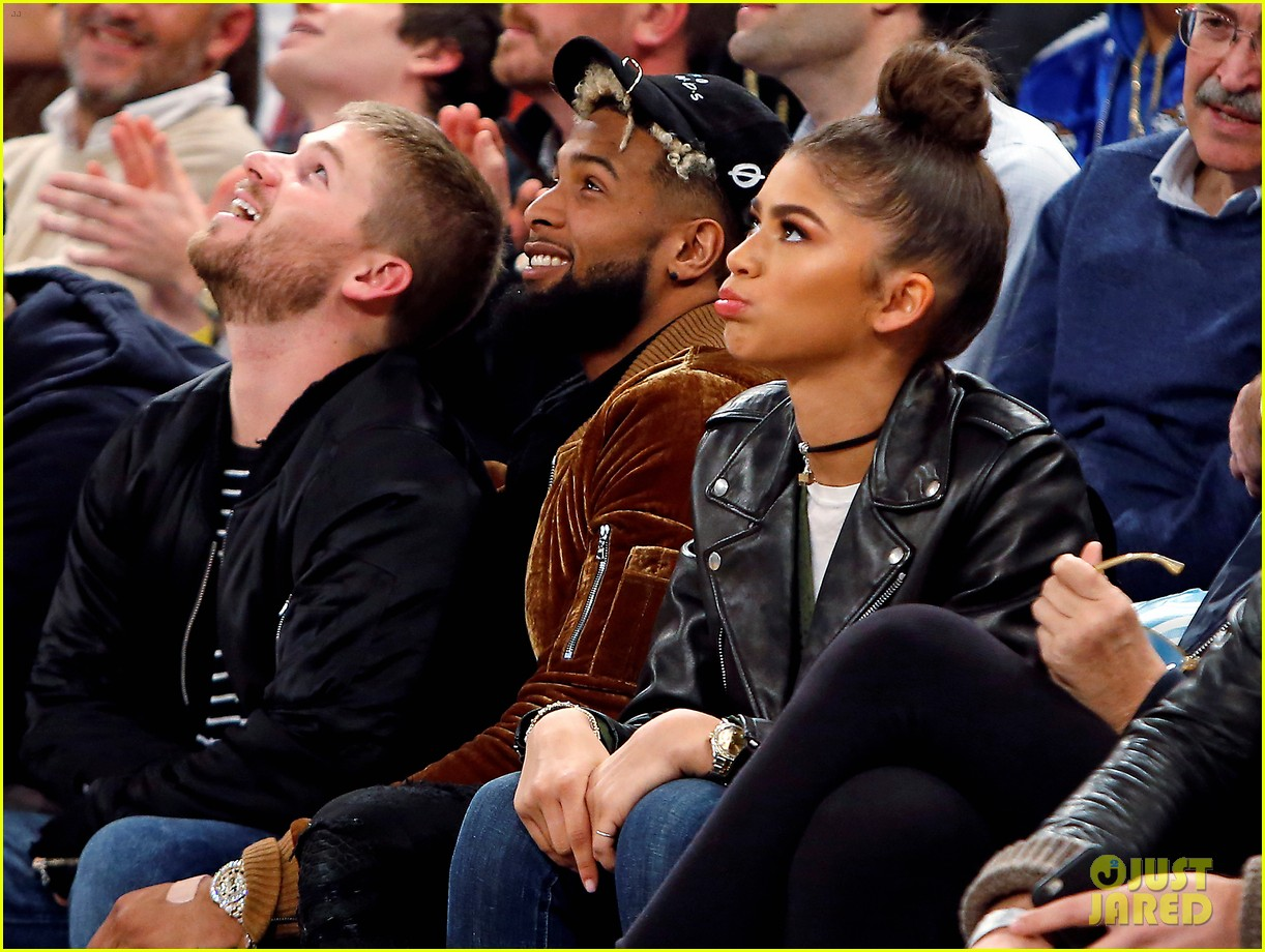 Zendaya Spotted Hanging With Odell Beckham Jr. at Knicks ... |Zendaya And Odell Beckham Knicks
