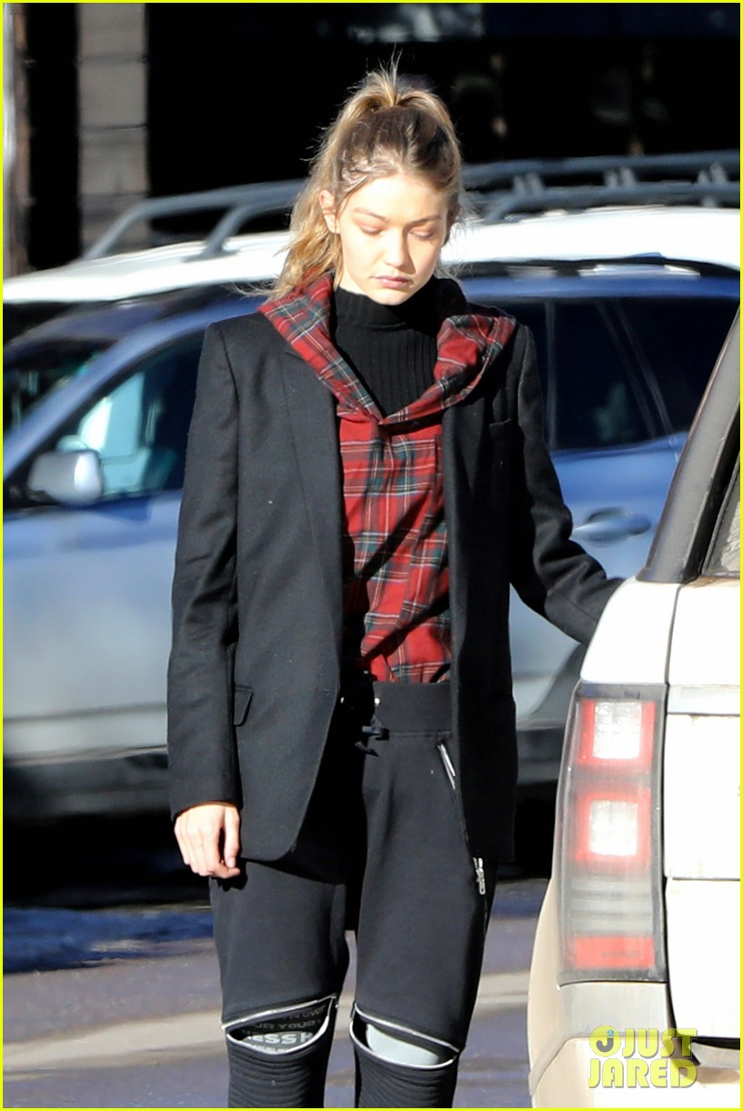 gigi hadid travels with precious cargo 04
