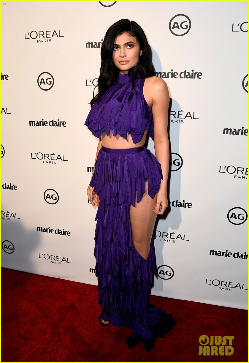 kylie jenner olivia holt dove cameron marie claire event 18