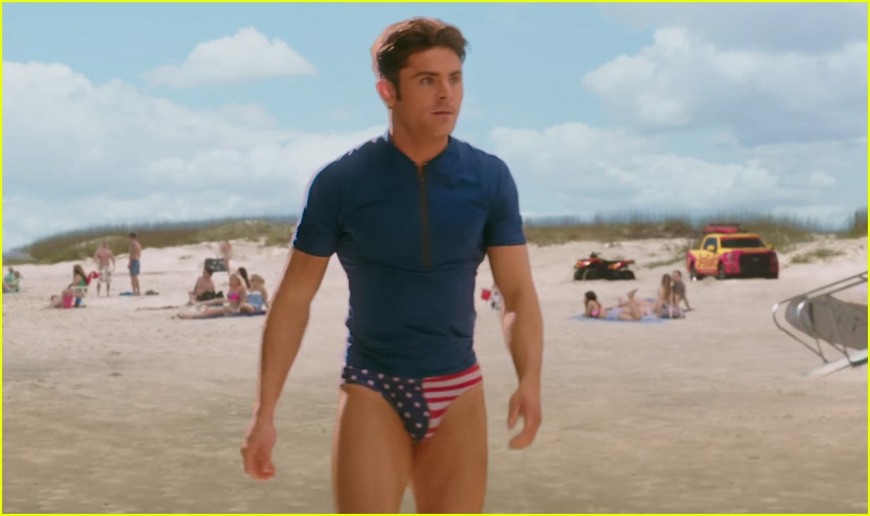 zac efron speedo baywatch super bowl commercial 01
